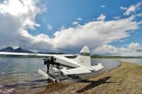 DeHaviland Beaver in Bristol Bay Alaska