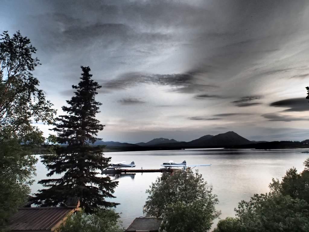 Weather on Lake Aleknagik